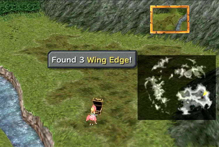 Wing Edge weapon FF9