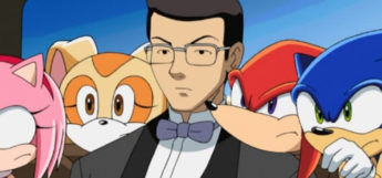 Mr Tanaka anime butler in Sonic screenshot