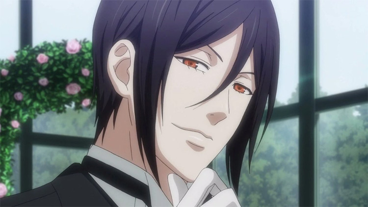 Sebastian Michaelis in Black Butler anime