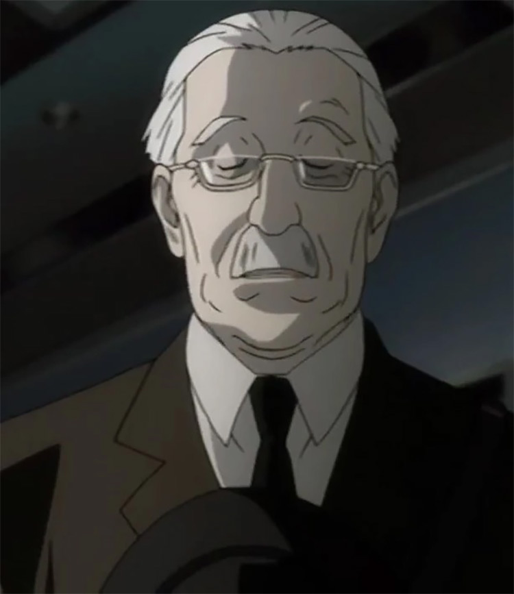 Watari in Death Note anime