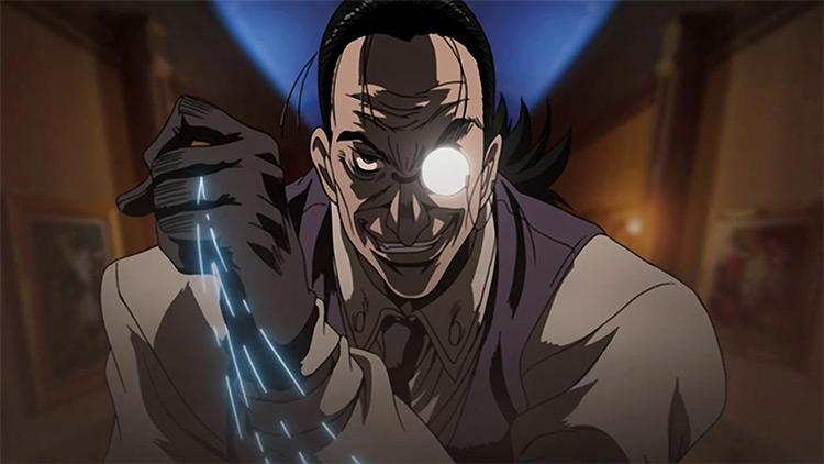 Walter C. Dornez in Hellsing anime