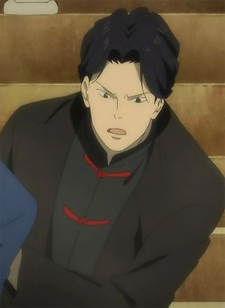 Wu in Bananafish anime