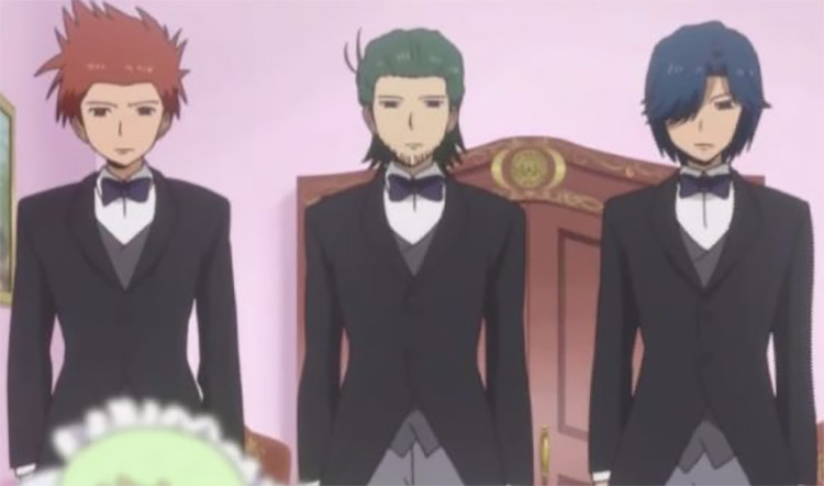 Nagase, Asano and Toyogawa in Daily Life of High School Boys anime