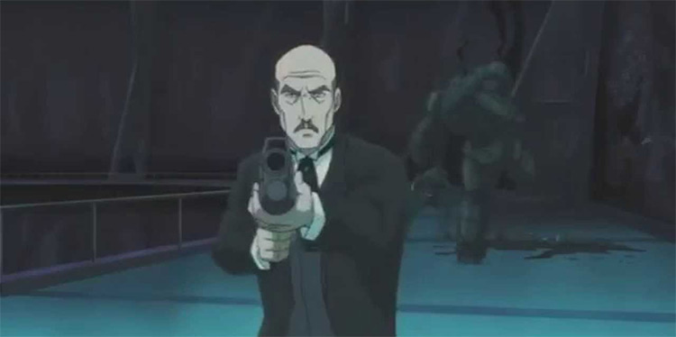 Alfred Pennyworth in Batman Ninja anime