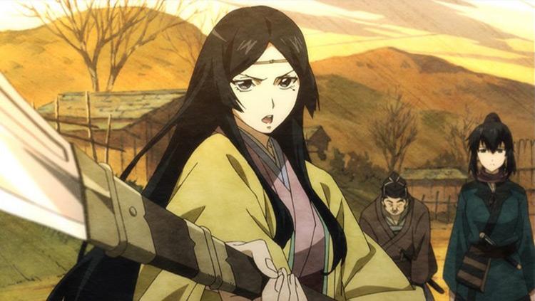Angolmois: Genkou Kassenki anime