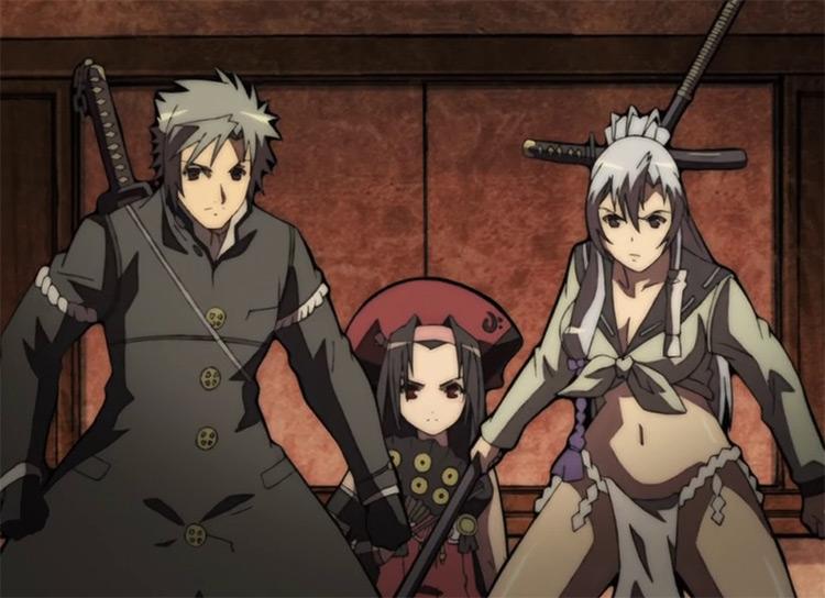 Hyakka Ryouran: Samurai Girls anime