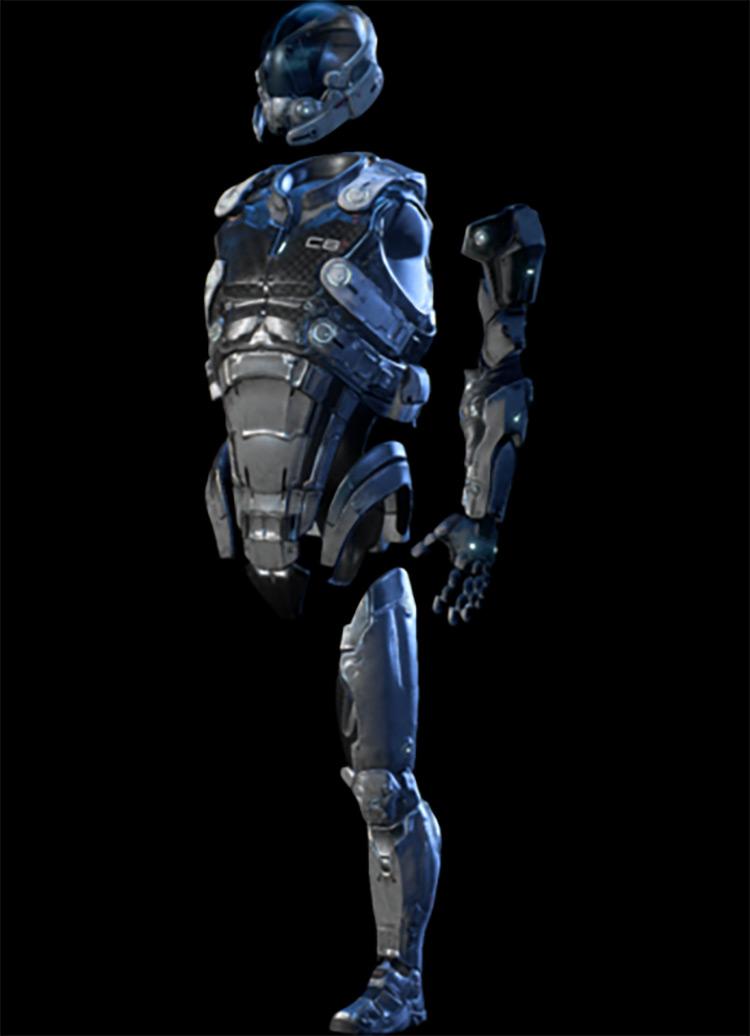Hyperguardian Armor Mass Effect: Andromeda Armor Set