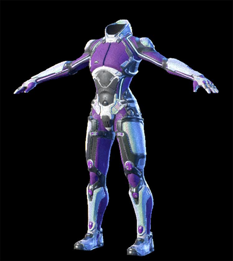 Heleus Defender Armor Mass Effect: Andromeda Armor Set
