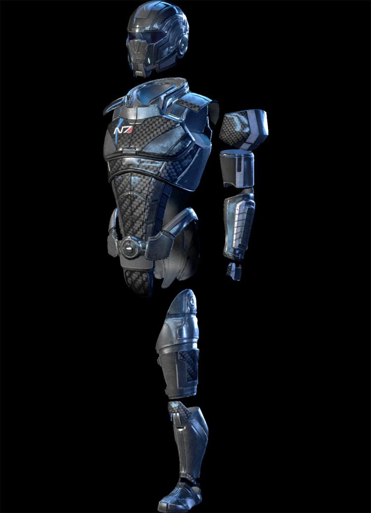 N7 Armor Mass Effect: Andromeda Armor Set