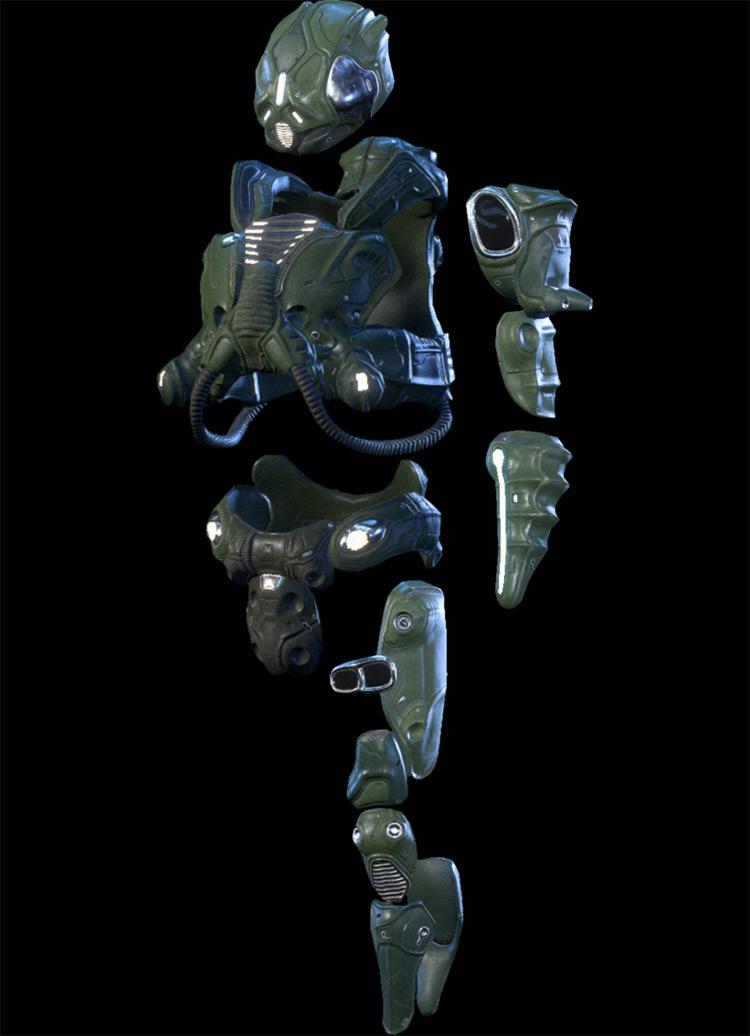 Kett Armor Mass Effect: Andromeda Armor Set