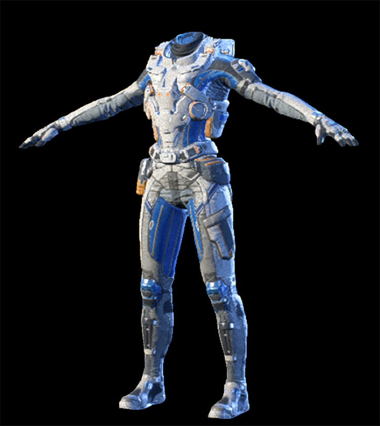 Deep Space Explorer Mass Effect: Andromeda Armor Set