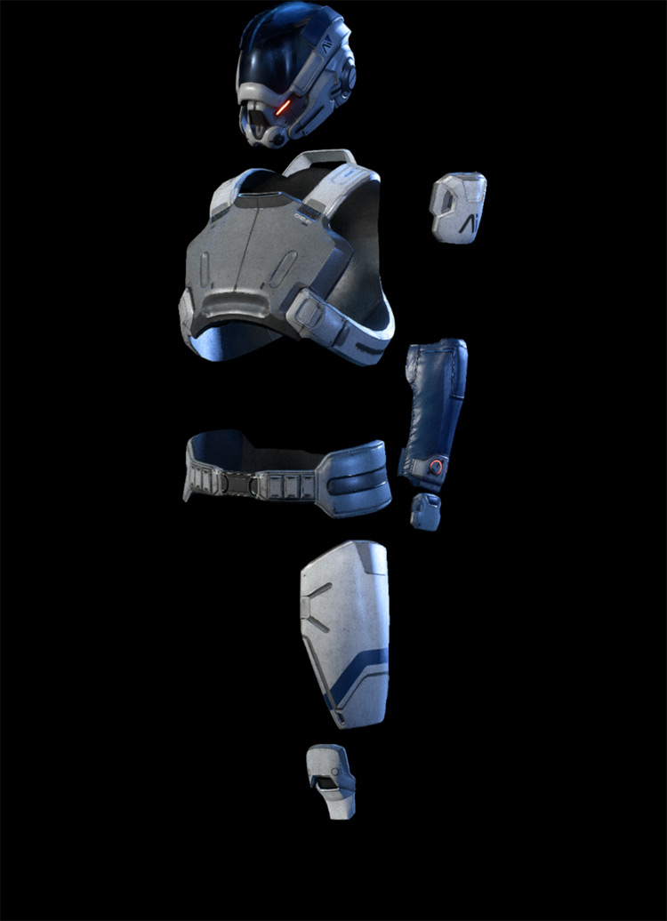 Initiative Armor Mass Effect: Andromeda Armor Set