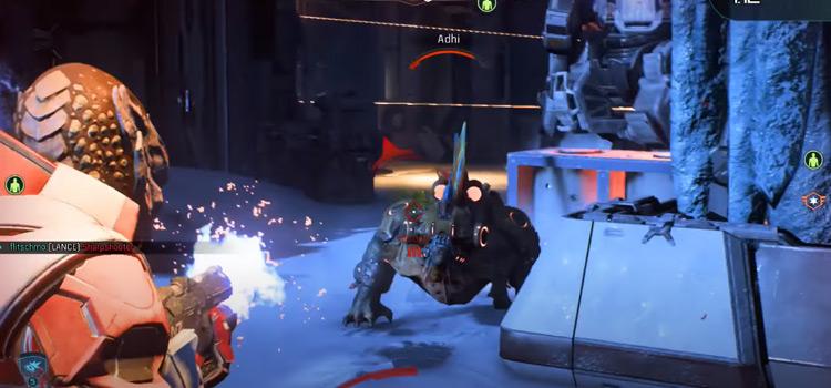 ME Andromedia - n7 Valkyrie battle screenshot