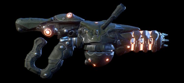 Soned Mass Effect: Andromeda Assault Rifle