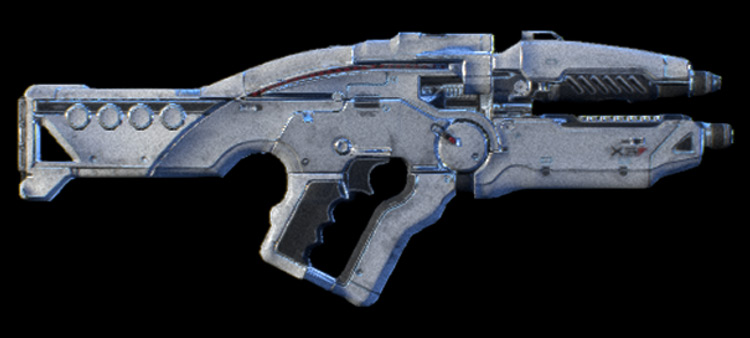 X5 Ghost Mass Effect: Andromeda Assault Rifle