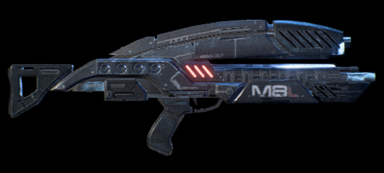 M-8 Avenger Mass Effect: Andromeda Assault Rifle