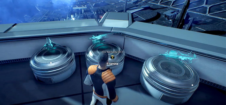 Mass Effect screenshot of gameplay