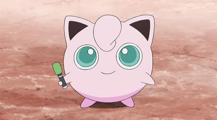 Jigglypuff Pokémon anime screenshot