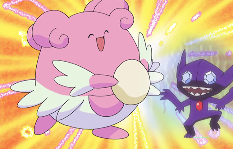 Blissey Pokémon anime