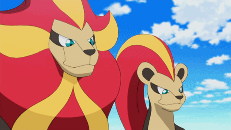 Pyroar from Pokémon