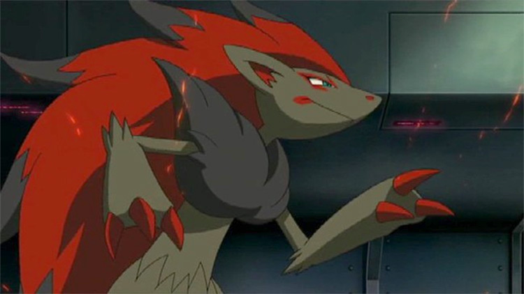 Zoroark Pokémon anime