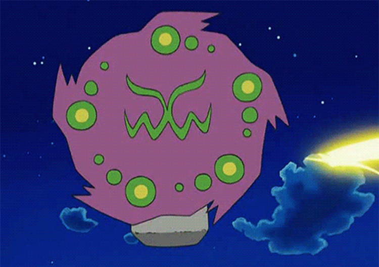 Spiritomb in Pokémon anime screenshot