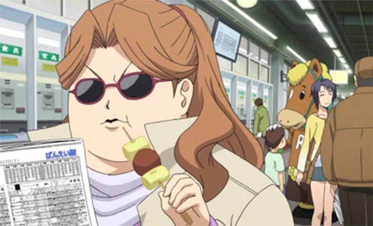 Tamako Inada in Silver Spoon anime