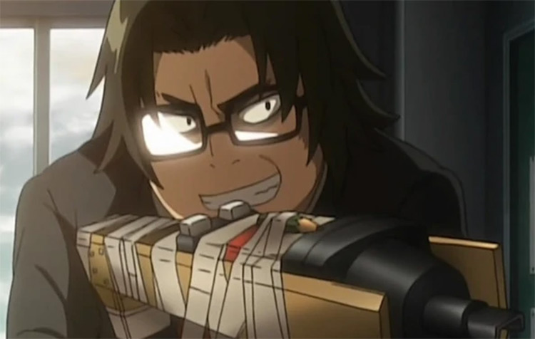 Kohta Hirano in High School of the Dead