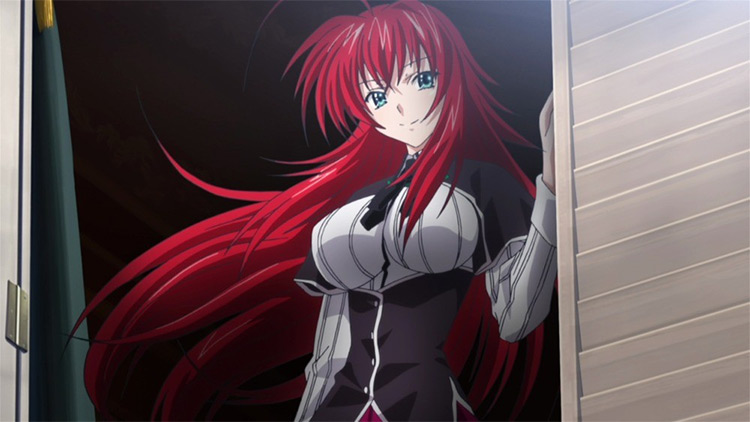 Rias Gremory High school DxD anime