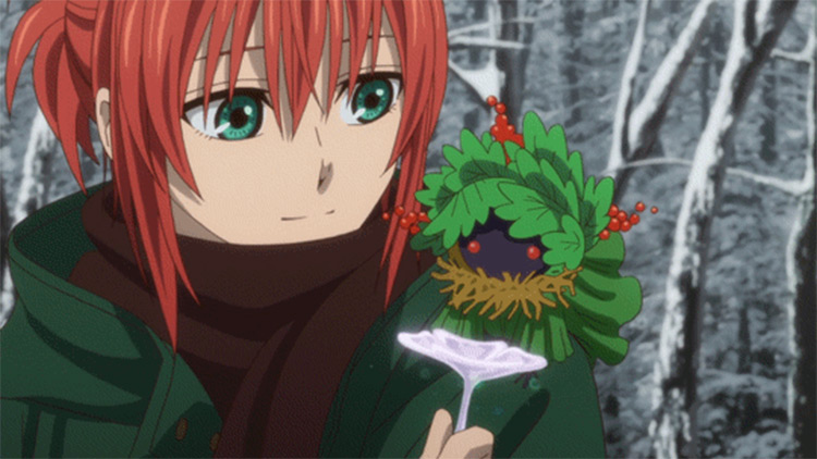 Chise Hatori in The Ancient Magus' Bride anime