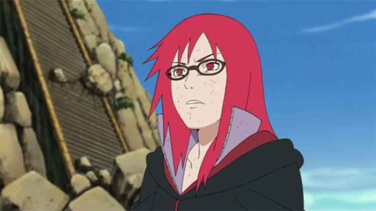 Karin Naruto Shippuden anime screenshot
