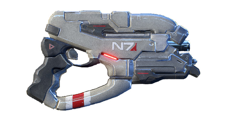 N7 Eagle weapon in ME Andromeda