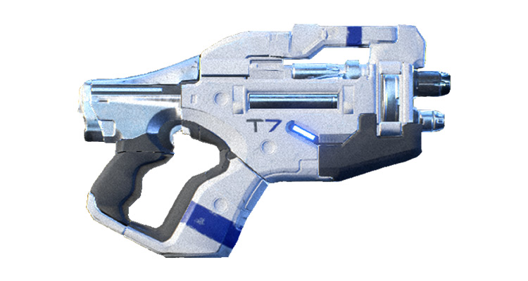 Talon weapon in ME Andromeda