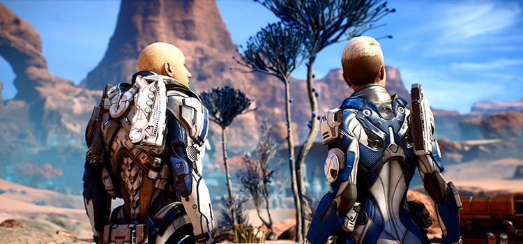 Squadmates overhaul in ME Andromeda screenshot