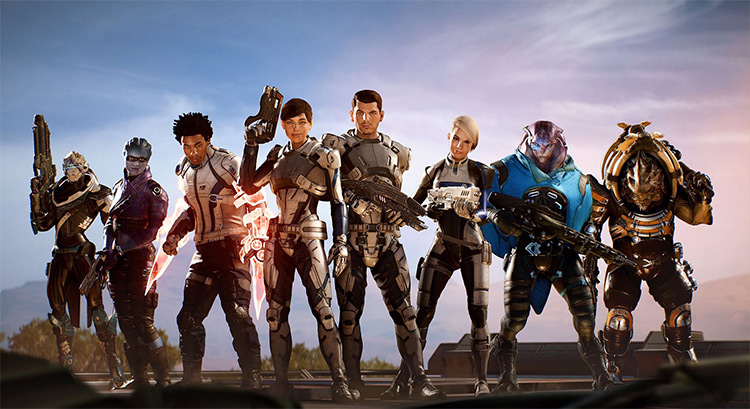 Better Squad mod for ME Andromeda