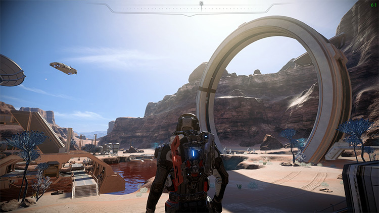 MEA Performance Tweaks mod in ME Andromeda