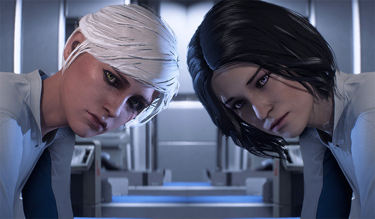 Witcher Girls ME Andromeda mod