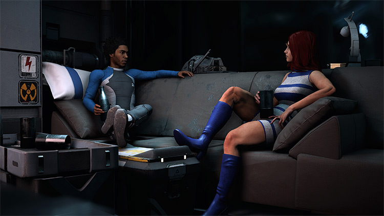 Ryder's Wardrobe Overhaul mod for ME Andromeda