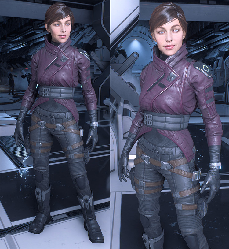 Peebee's Outfit – Casual and Armor Swaps for Ryder mod