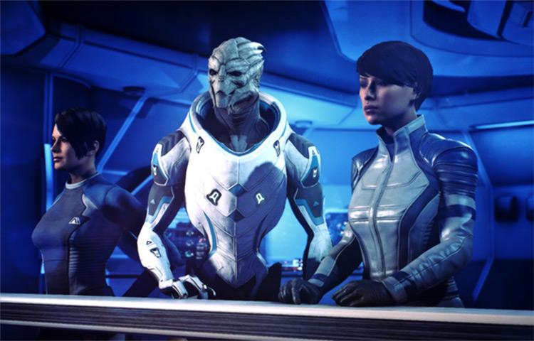 Turian Ryder mod for ME Andromeda