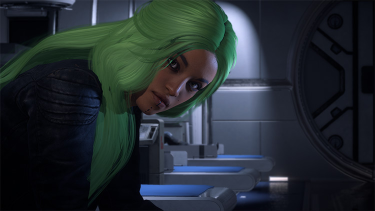 MEA – Hairstyles WIP ME Andromeda mod