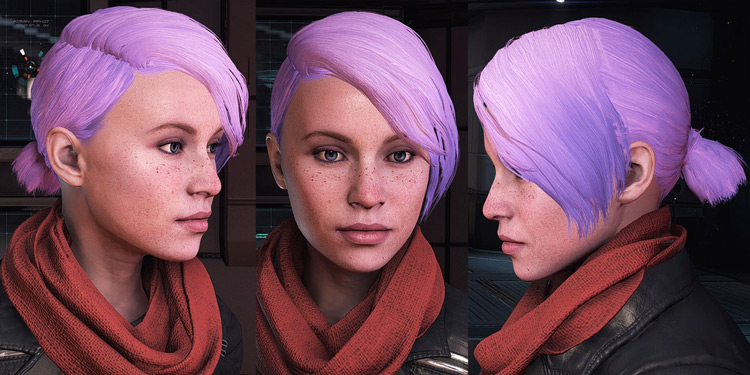 Armor and Hair Replacer ME Andromeda mod
