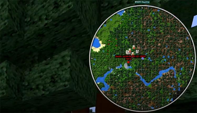 JourneyMap Minecraft mod