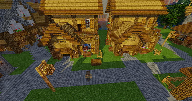 Mine Colonies mod for Minecraft