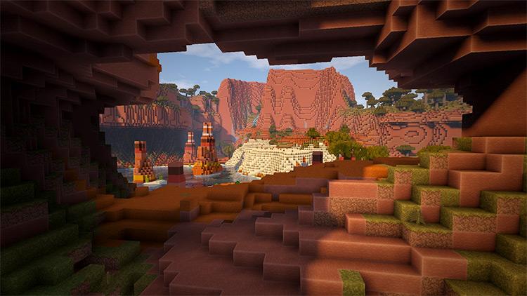 Biome Bundle Minecraft mod gameplay