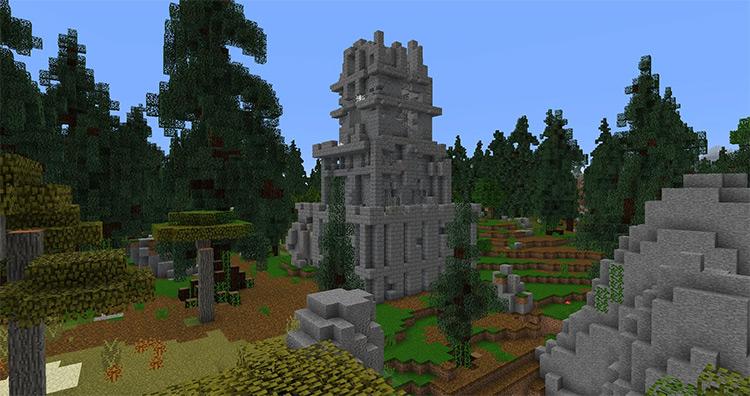 Open Terrain Generator Minecraft game mod
