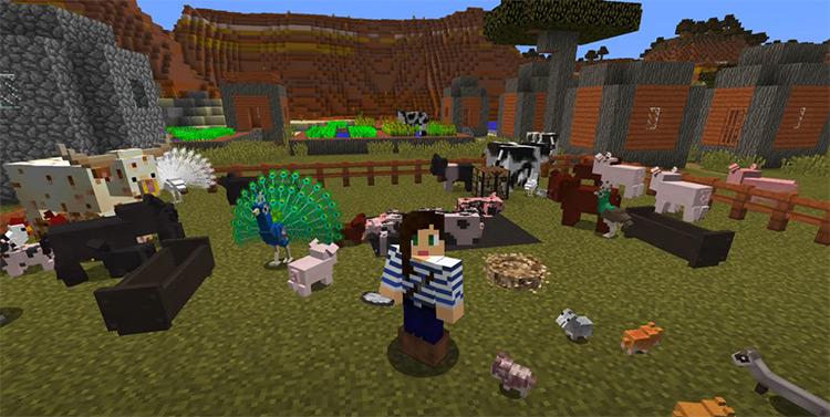 Animania Minecraft mod screenshot