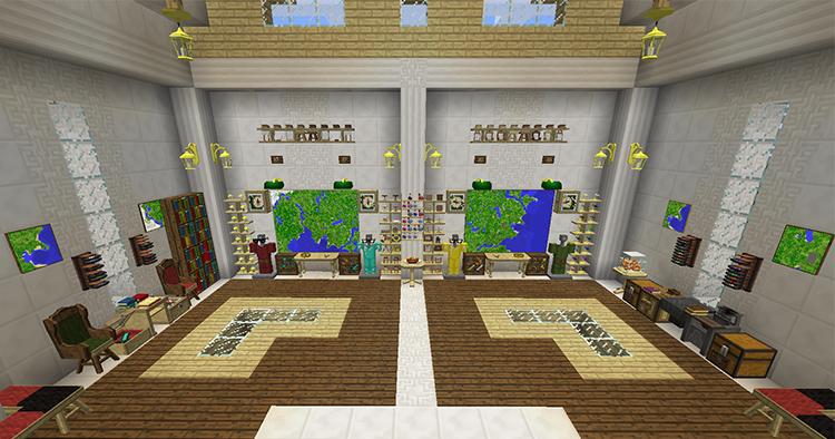 BiblioCraft mod in Minecraft