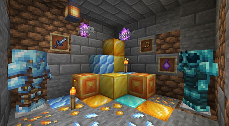 Druidcraft mod for Minecraft