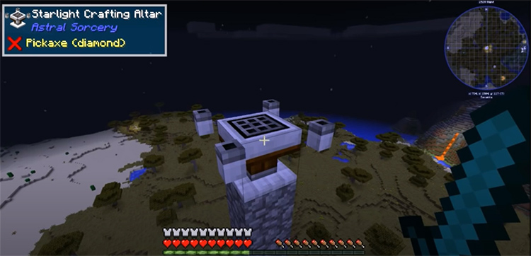 Astral Sorcery mod in Minecraft
